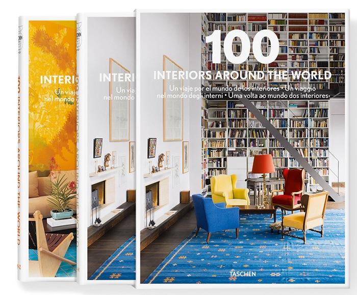 Un viaje por el Mundo de los Interiores. Libro: 100 Interiors around de World