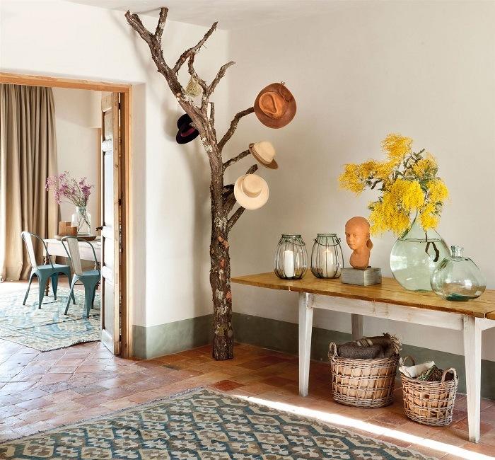 madera decoración feng shui