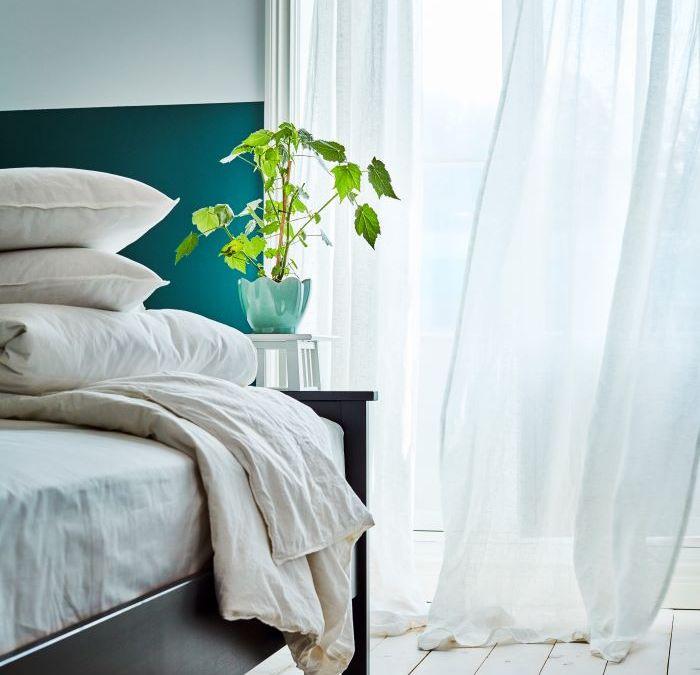 Cómo descansar en nuestro dormitorio durante las noches de verano