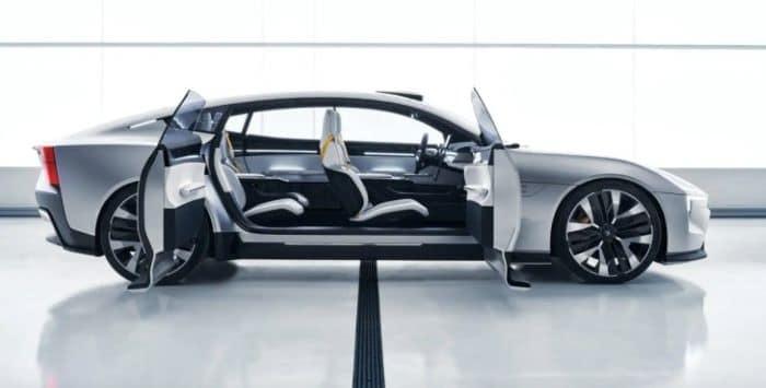 Modelo de concept cars