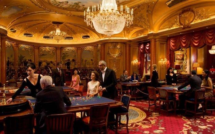 Interior casino de Londres