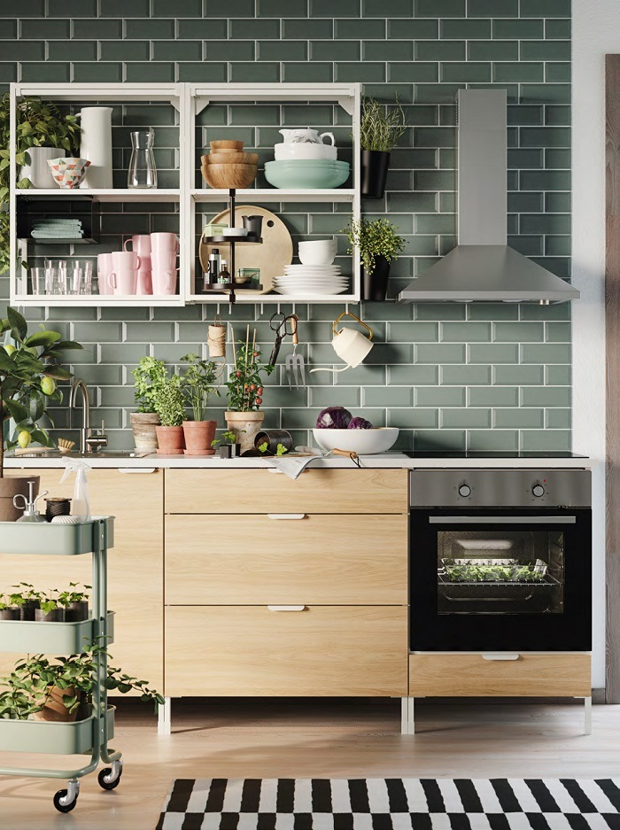 Cocina de catálogo IKEA 2021
