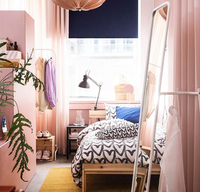 Habitación en catálogo IKEA 2021