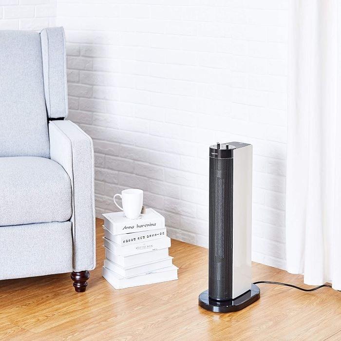Calefactor eléctrico de diseño Tipo torre