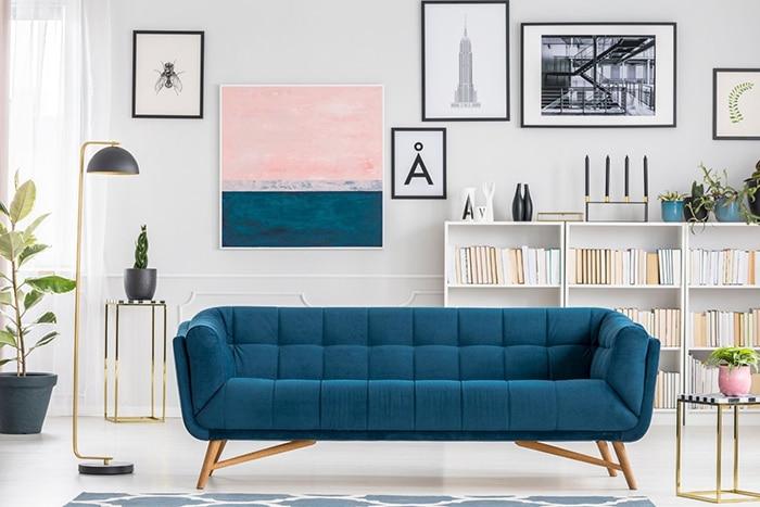 salon decoracion escandinava