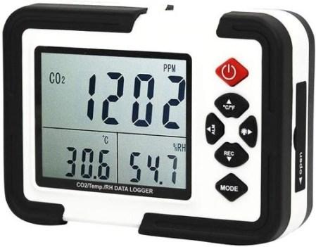Medidor de CO2 detector