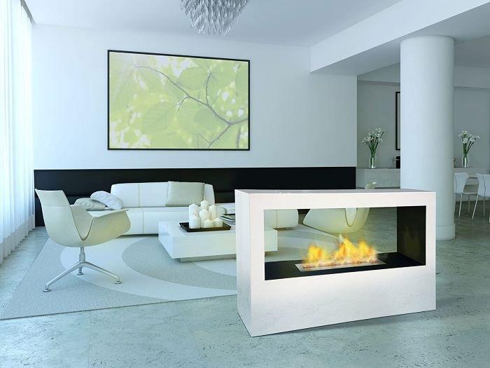chimenea de bioetanol de diseño