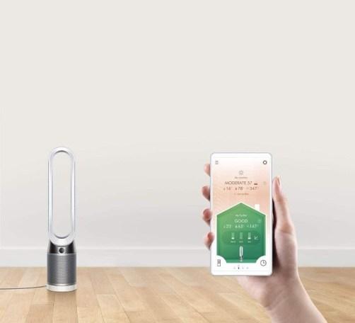 Purificador de aire con diseño moderno