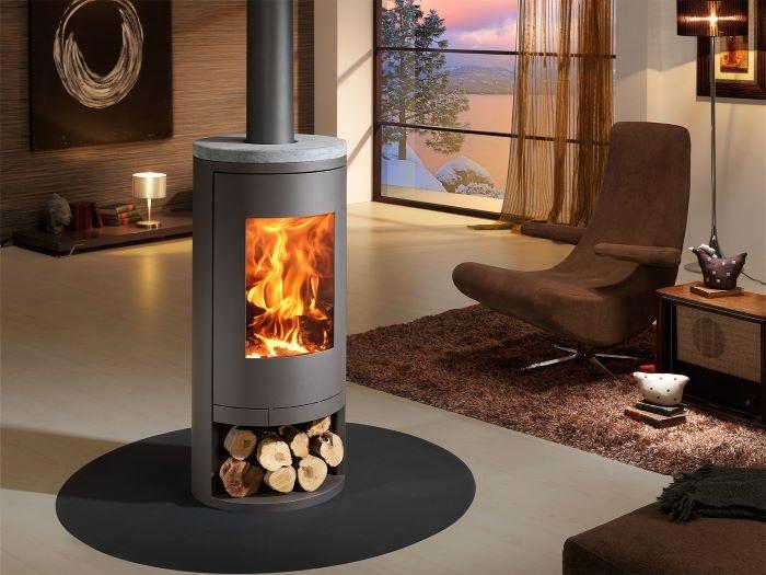 8 estufas de leña de diseño para calentar tu hogar de manera tradicional