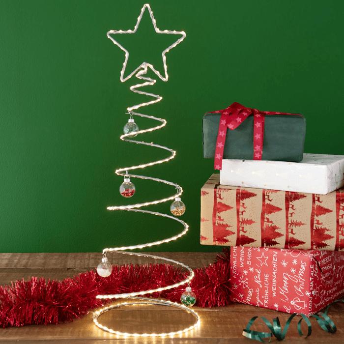 Árbol de Navidad original en forma de espiral Maisons du Monde
