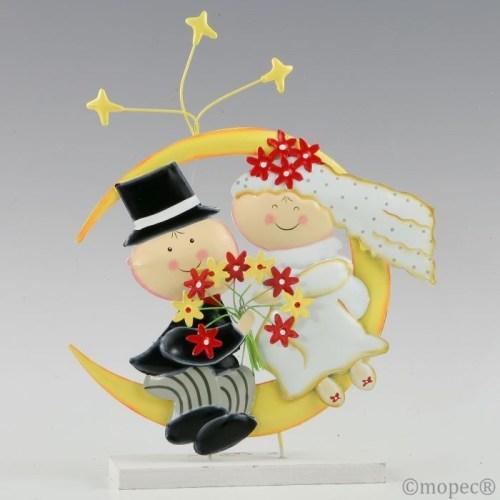 Figura para tartas de boda