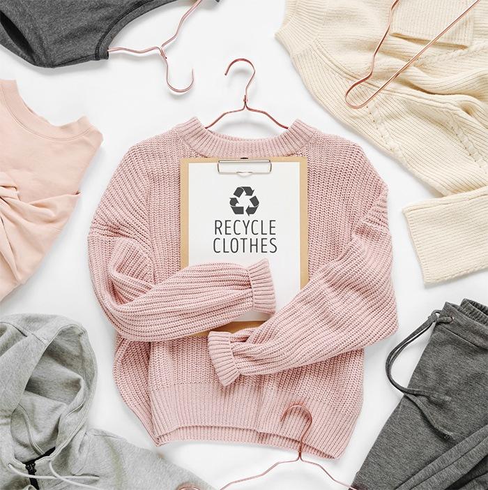 reutilizar prendas sostenibles