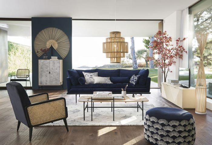 mesas-apilables-estilo-contemporáneo de Maisons du Monde