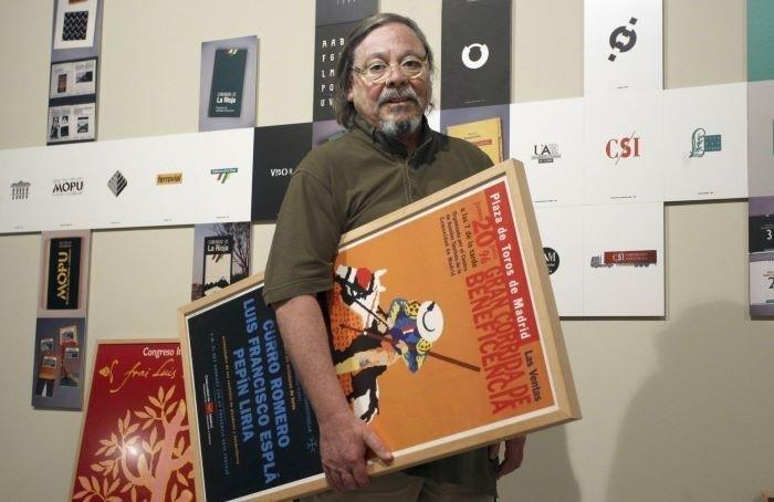 Alberto Corazón creó obras en pintura y escultura además de escribir varios libros sobre el diseño
