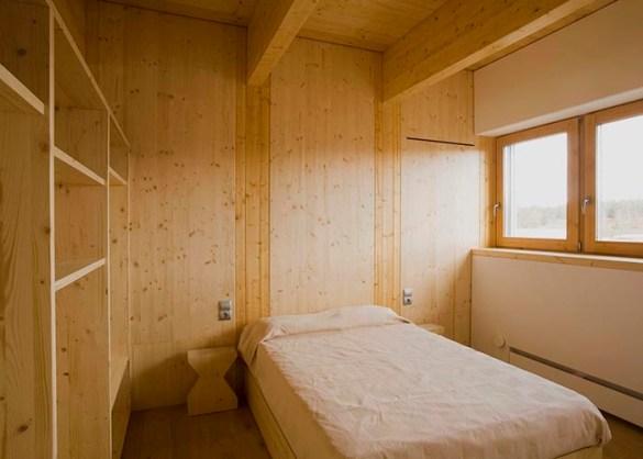 dormitorio casa eficiente