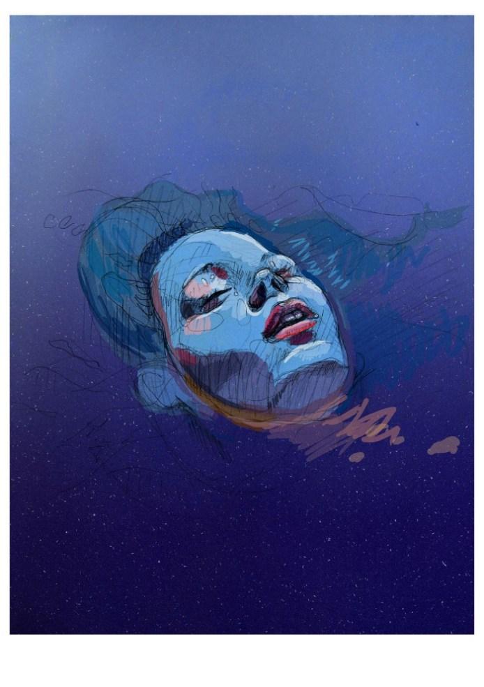 pintura mujer cara