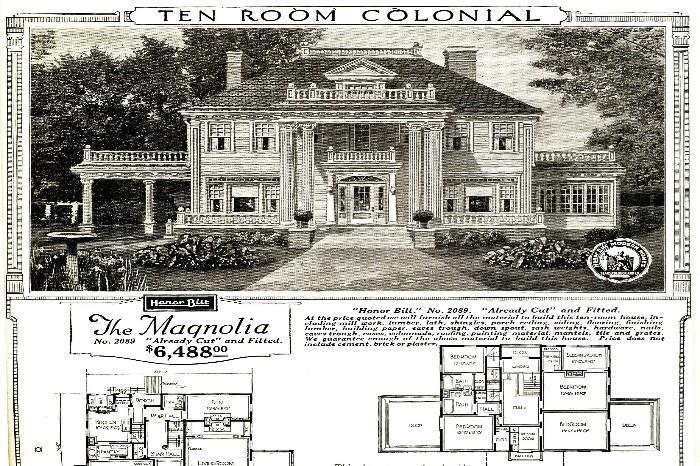 fachada casa y plano