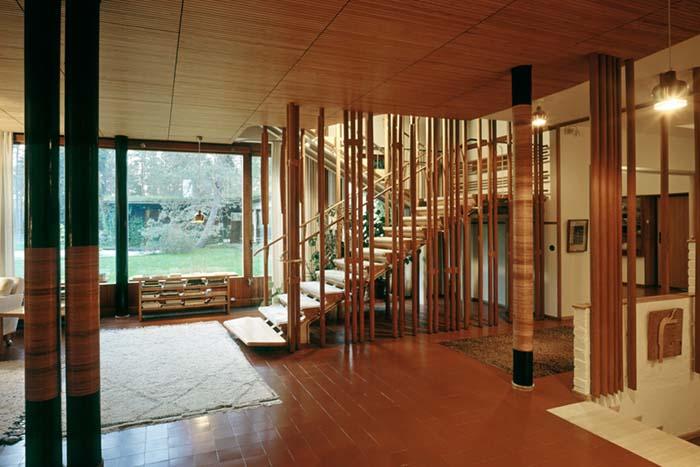 proyecto arquitectura sensorial Villa Mairea