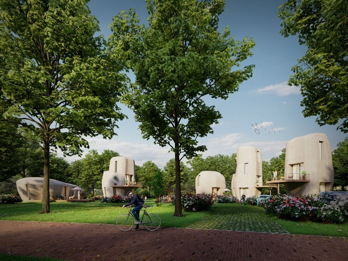 diseño casas prefabricadas 3d