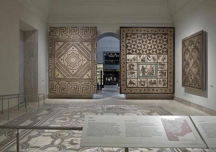 sala mosaicos
