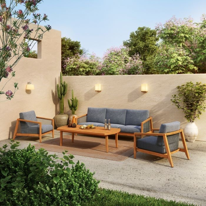 muebles para jardin serie lita de leroy merlin
