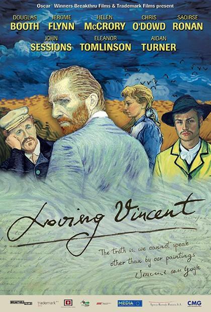 Loving Vincent portada pelicula