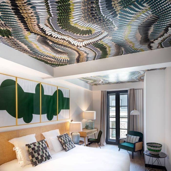 Habitación Vienne del hotel suites