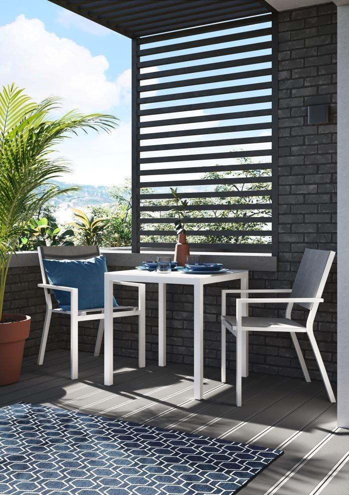 muebles de jardin o terraza serie salonica de leroy merlin