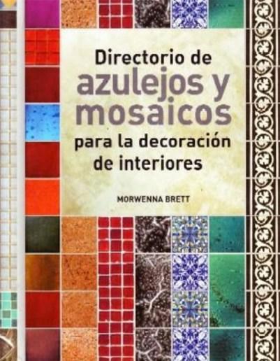 libros de mosaicos azulejos hidraulicos