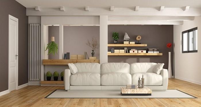 sofa modular crema