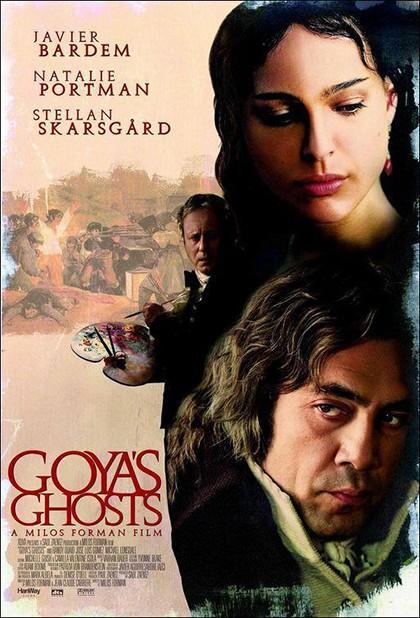 Los fantasmas de Goya portada pelicula
