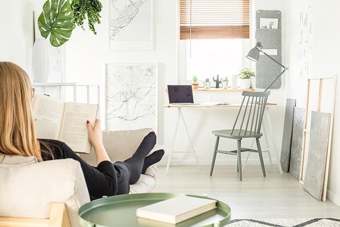 ¿Cómo organizar un rincón de lectura en casa?