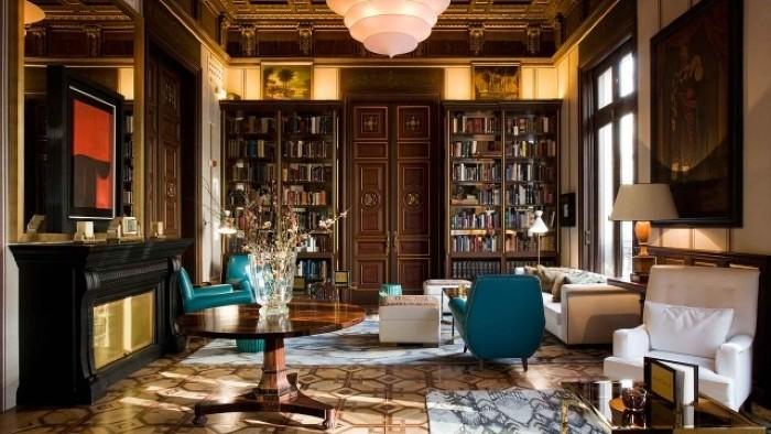 libreria hotel cotton house