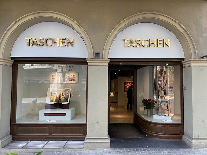 pop up tienda taschen barcelona