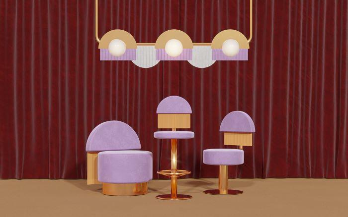 Hollywood Glamour, una colección de diseño interior como en las películas de Masquespacio