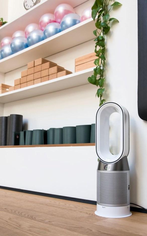 Moderno calentador y ventilador Dyson