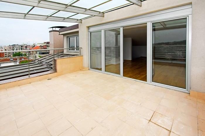 techo cristal terraza