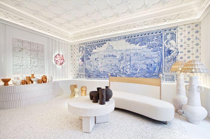 Espacio de artesanía mezclada con tecnología en Casa Decor 2021