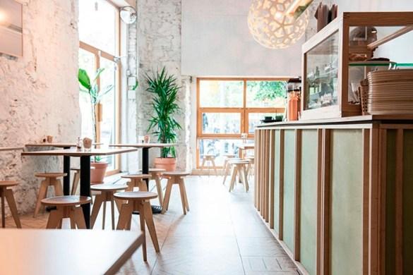 interior cafeteria little fern