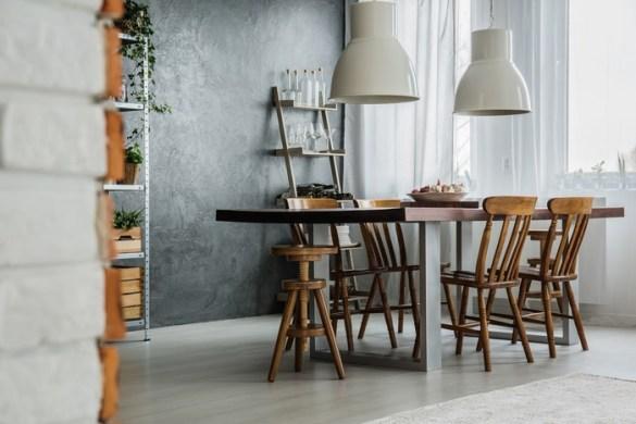 comedor pequeño estilo y diseño elegante