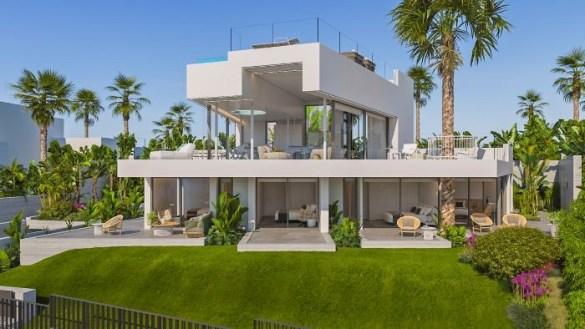 Proyecto de casa Abama exterior en Tenerife