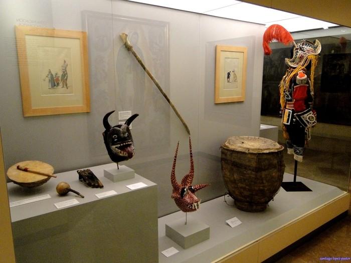 Museo de América en Madrid objetos y piezas de cultura de América