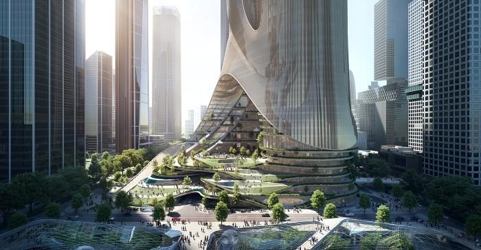 Los rascacielos más futuristas del mundo