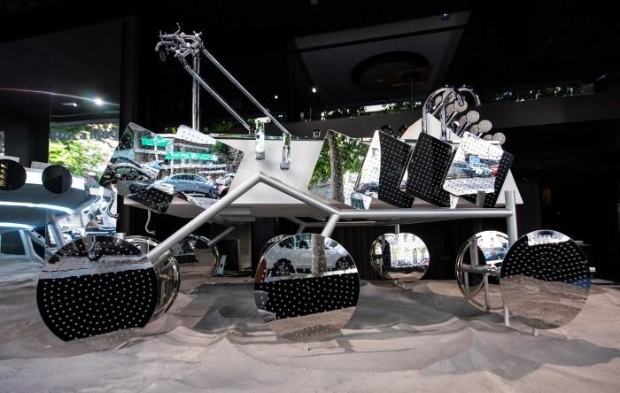 robot exploracion espacio