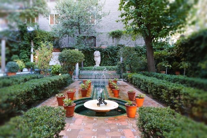 Jardín exterior Museo Sorolla