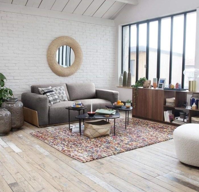 Diferentes diseños de sofás para la decoración de tu salón