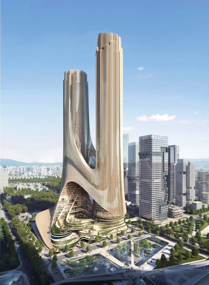 futuro rascacielos shenzhen bay