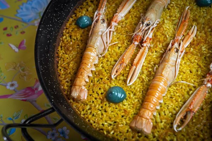 imagen plato arroz en el restaurante Rosi La Loca Madrid