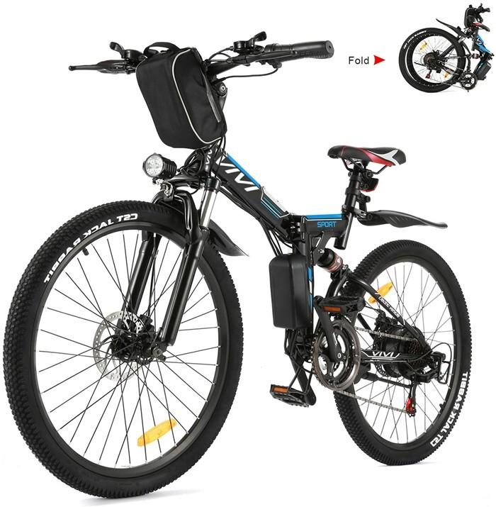 bicicleta plegable montaña