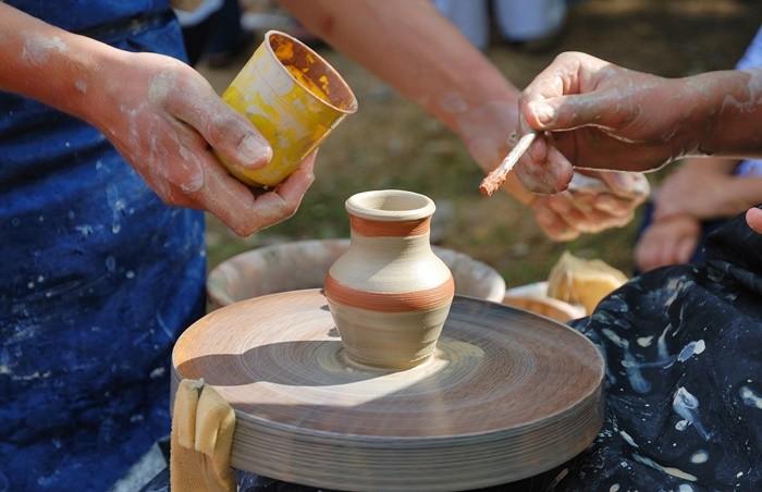 manualidades ceramica pintar